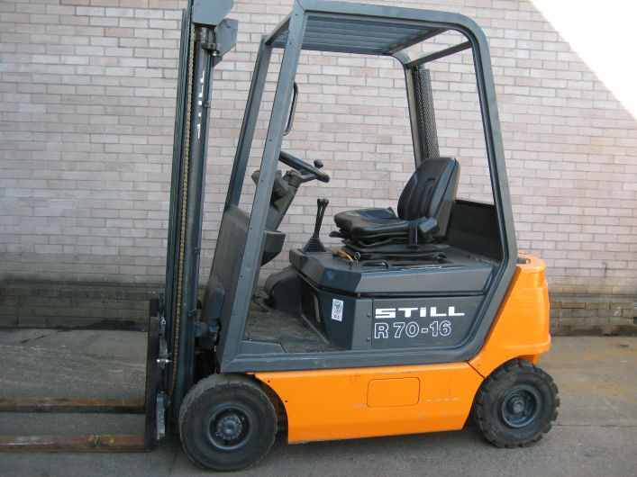 Still R70 1.6 tonne used diesel forklift
