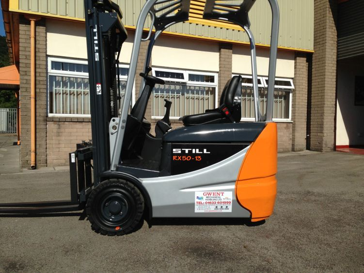 Used Still RX50-13 1.3 Tonne Electric Forklift