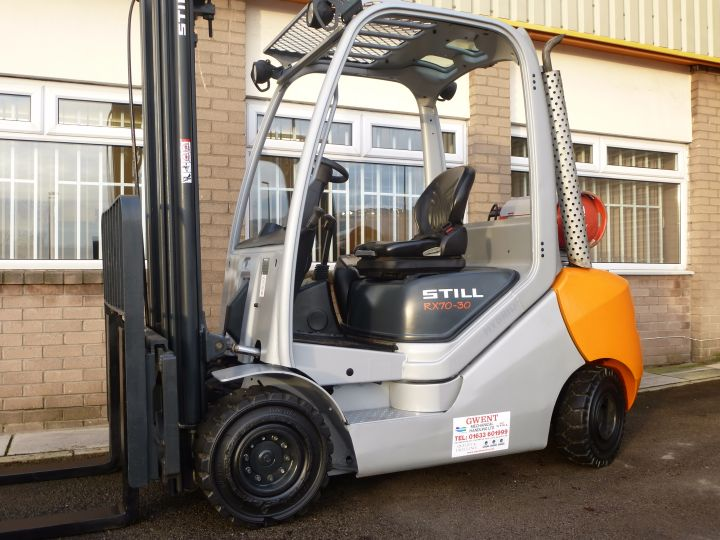 USED STILL RX70 GAS FORKLIFT