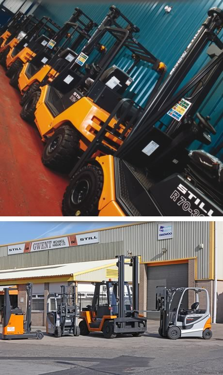 Used Forklift Company Gwent Mechanical Handling