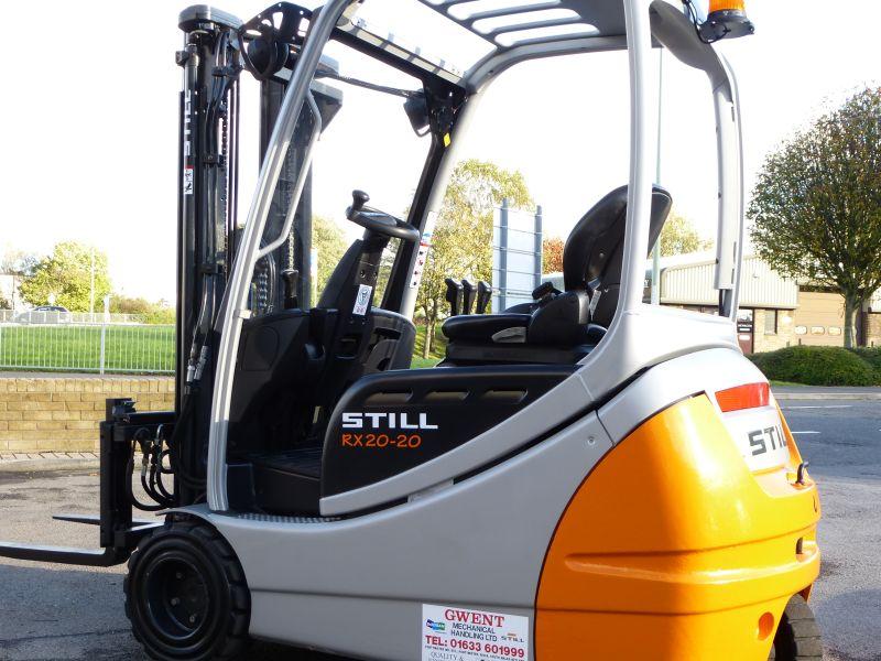 Used Still RX20-20 Forklift