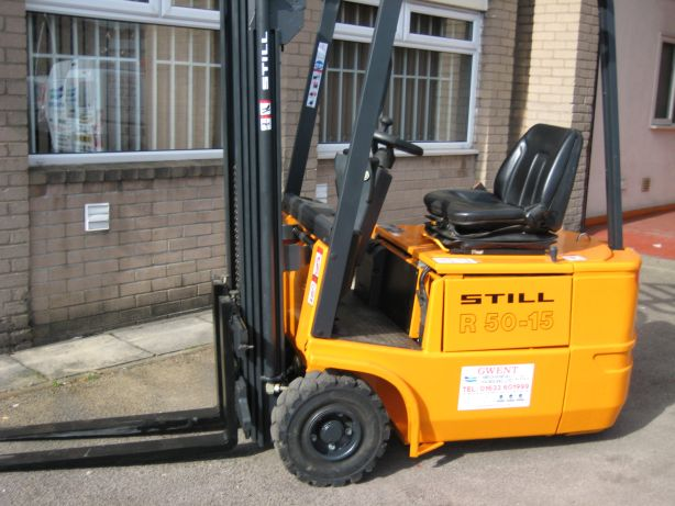 Still R50 1.5 tonne second hand electric forklift