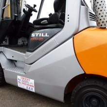 Still RX70-25 2.5 tonne refurbished diesel forklift 5