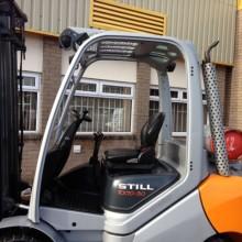 Used Still RX70 Gas Forklift 6