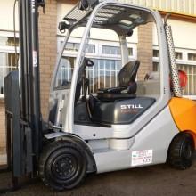 Used Still RX70 Gas Forklift 1